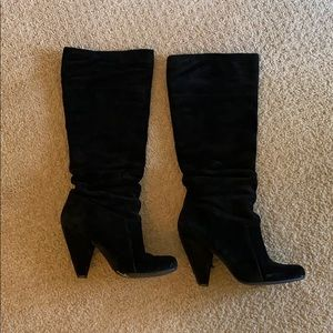 Jessica Simpson suede Angie boot